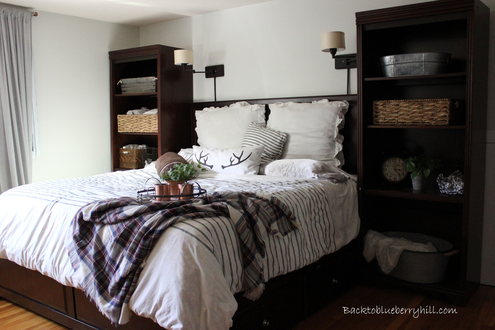 Master Bedroom Update Back To Blueberry Hill