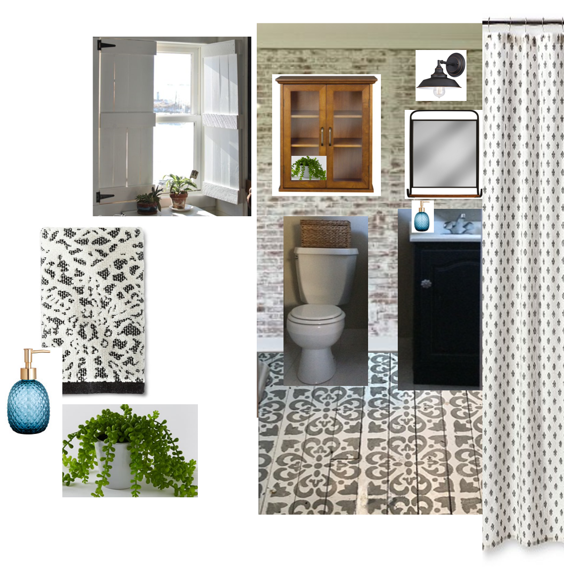 Bathroom Design Board master bathroom design board – back to blueberry hill
